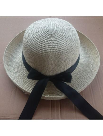 HO4871 - Topi Pantai Sun Hat Beach Bow