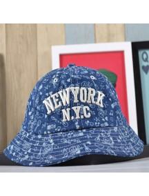 HO4878 - Topi Bucket NY Jeans