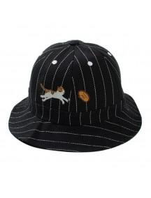 HO4890 - Topi Bucket Hat Fun Cartoon ( Navy Blue )