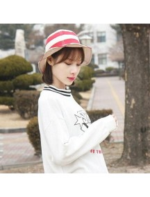HO4885 - Topi Bucket Hat Stripe