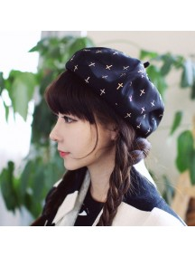 HO4887 - Topi Bucket Hat Berret Retro