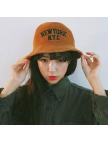 HO4899 - Topi Bucket Hat NYC Corduroy