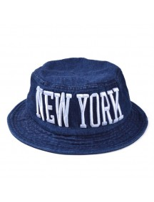 HO4906 - Topi Bucket Hat New York Jeans
