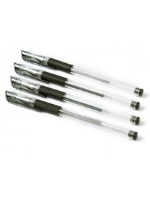 HO5003 - Pulpen Gel Hitam 0,5mm