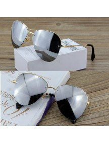 HO4272G - Kacamata Fashion Sunglaze ( SilverGlass )