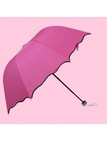 HO2985D - Payung Hujan & Panas UV (PINK TUA)