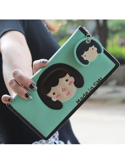 HO3578B - Dompet Fashion Cute Girls (Hijau)