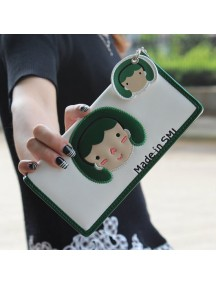 HO3578D - Dompet Fashion Cute Girls (Putih)