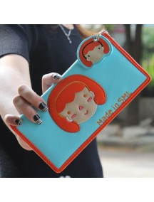 HO3578E - Dompet Fashion Cute Girls (Biru)