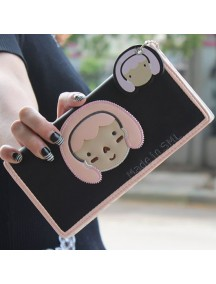 HO3578F - Dompet Fashion Cute Girls (Hitam)