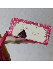 HO3579 - Dompet Fashion Cute Princess (Pink Tua)