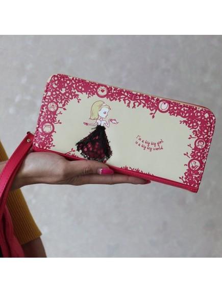 HO3579 - Dompet Fashion Cute Princess (Pink Tua)