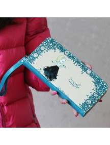 HO3579B - Dompet Fashion Cute Princess (Biru)