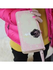 HO3579C - Dompet Fashion Cute Princess (Pink)