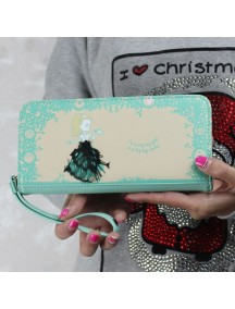 HO3579D - Dompet Fashion Cute Princess (Hijau)
