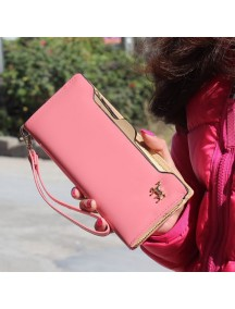 HO3584D - Dompet Fashion Zipper Kuda (Pink)