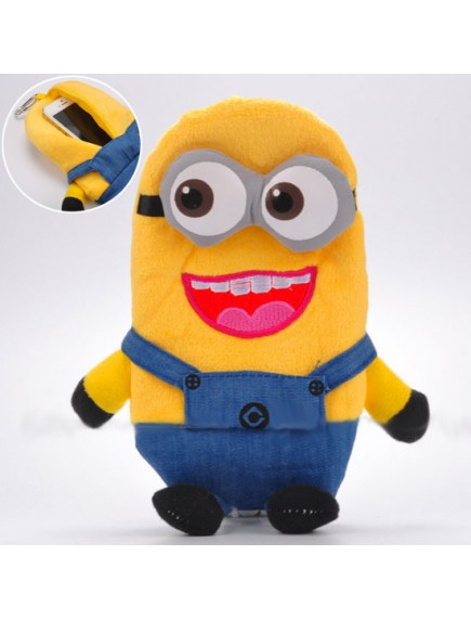 HO3598C - Dompet Serbaguna With Hanger Minions Despicable ME