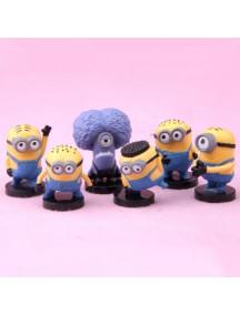 HO4083 - Patung Cartoon Animation Mini Despicable ME Set