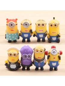 HO4091 - Patung Cartoon Animation Mini Despicable ME Set
