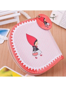 HO4096C - Dompet Fashion Little Girl Red Dot (Merah)