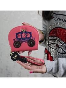 HO4115B - Dompet Fashion Kereta Retro (Merah)
