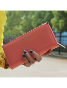 HO4116C - Dompet Fashion Love Fold Bucket (Merah)