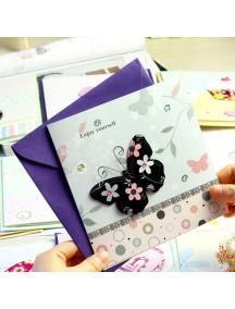 HO4128 - Kartu Ucapan / Gift Card 3D (Random)