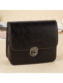 HO4133 - Tas Fashion Simpel Leather (Hitam)