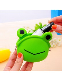 HO4166 - Dompet Fashion Silicone (FROG)