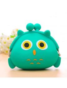 HO4166B - Dompet Fashion Silicone (OWL)