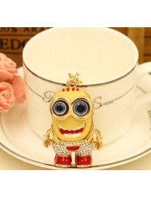 HO4216 - Minion Hanging Pendant Bag , Key Chain Diamond