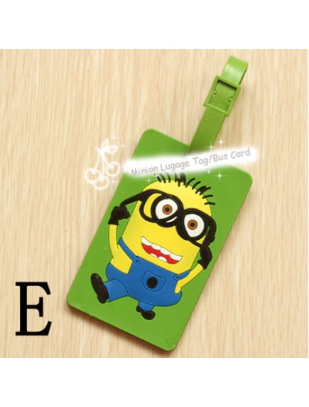 HO4230 -  Minion Luggage tag / bus card package / card sets