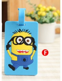 HO4231 -  Minion Luggage tag / bus card package / card sets