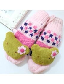 HO4268 - Sarung Tangan Wool Teddy Bear