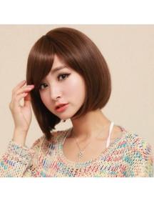 HO4270 - Hair Wig/ Rambut Palsu Pendek Brown