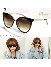 HO4348B - Kacamata Fashion Cat Style ( Brown )