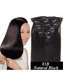 HO4352 - Hair Clips Hitam Natural