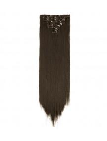 HO4353 - Hair Clips Coklat Gelap