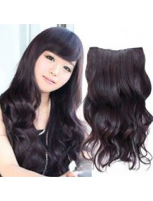 HO4362 - Wig Hair Clips Wave Natural Black