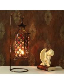 HF1104 - Pajangan Dekorasi Rumah Tempat Lilin Exotic