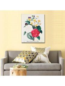 HF1130 - Lukisan Dekorasi Bunga