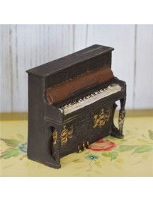 HF1230 - Dekorasi Ornamen Piano Retro
