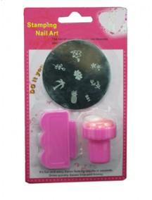 HO1218 - Nail Art Stamping / Cap Stempel Kuku