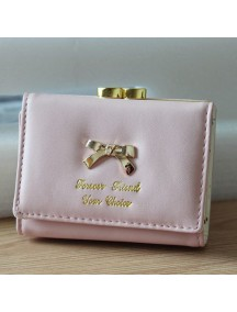 HO2670B - Dompet Fashion Pita (Pink Muda)