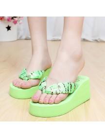 HO2678D - Sandal Fashion Leopard ( Size 39 )