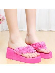 HO2681 - Sandal Fashion Bunga ( SIze 36 )