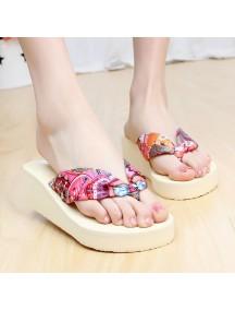 HO2696D - Sandal Fashion Bunga Pic ( Size 39 )