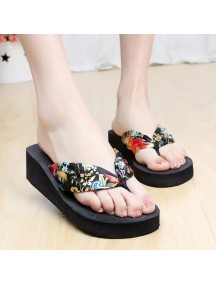 HO2698 - Sandal Fashion Bunga Pic ( Size 36 )