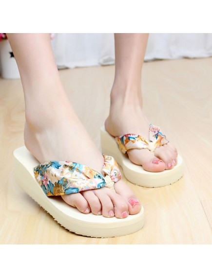 HO2699 - Sandal Fashion Bunga Pic ( Size 36 )