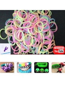 HO2733 - Rainbow Loom Glow In Dark Refill + Pemintal Mini